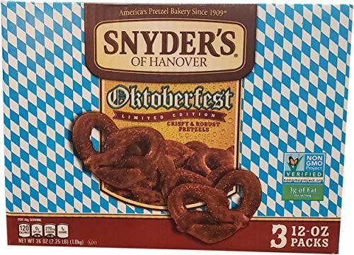 Snyders Pretzels Sourdough (Snyder's Lance Oktoberfest Pretzels, 36 Ounce)