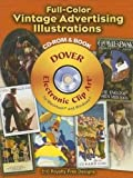 Full-Color Vintage Advertising Illustrations CD-ROM and Book (Dover Electronic Clip Art)