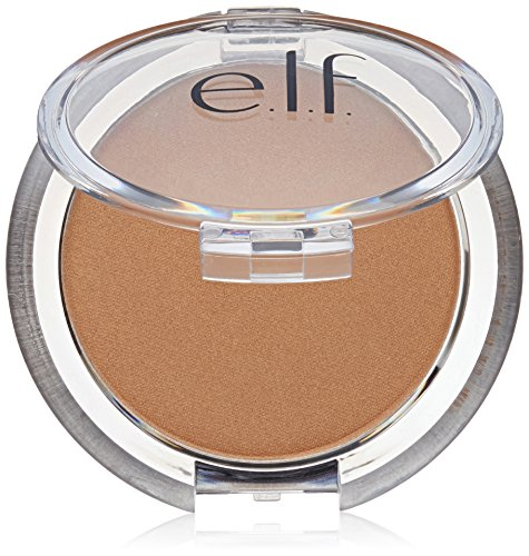 e.l.f. Cosmetics Sunkissed Glow Bronzer Professional Highlighter and Contouring Makeup, .18 Ounce Compact