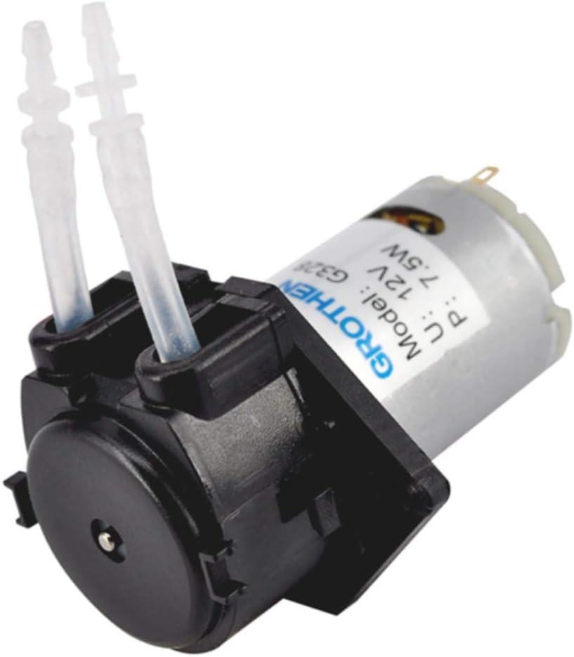 autoadescante 2*4 silica gel tube 12v semplice smontaggio DC 12 V//24 V tubo pompa per lanalisi chimica peristaltica dellacqua di analisi acquario fai da te FADDR Labor pompa dosatrice