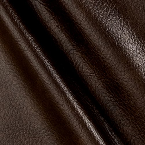 Richloom Fabrics Richloom Tough Faux Leather Longville Chocolate,