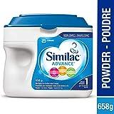 Similac Advance Step 1 Non-GMO Baby Formula, Powder, 658 g, 0+ Months