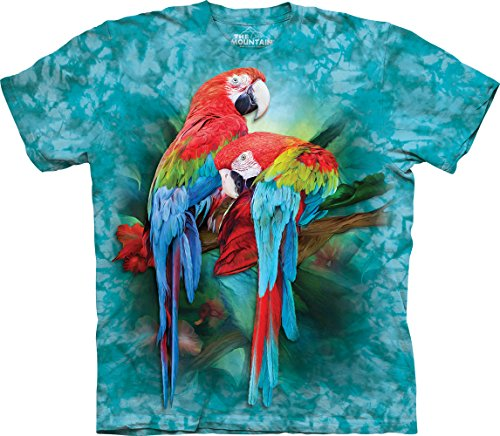 The Mountain Macaw Mates T-Shirt, Small, Teal