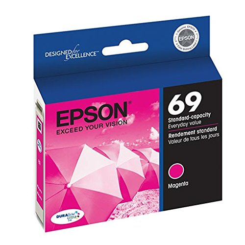 (Epson T069320 69 OEM Ink Cartridge: Magenta Yields 350 Pages)