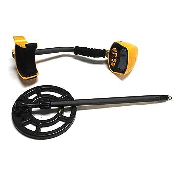 Fanmuran Detector de Metales con Alta Sensibilidad Bobina de Búsqueda Sensible, Impermeable y fácil de uso para Profesionales Principiantes Al aire libre ...