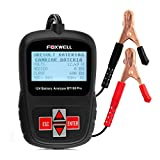 Foxwell BT100 100-1100 CCA 12V Battery Load Tester Portable Design Directly Battery Analyzer