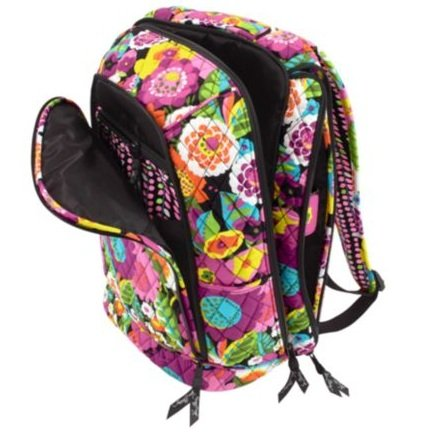 Vera Bradley Laptop Backpack in Va Va Bloom