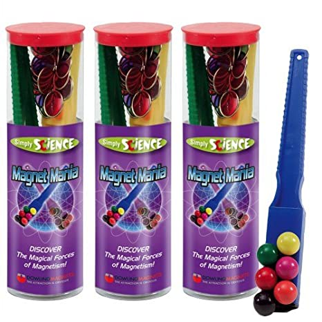 Dowling Magnets DO-SS75 Simply Science Magnet Mania Kit