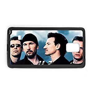 Gel Protective Phone Cases For Girls Print With U2 For Galaxy Note 4 Choose Design 3