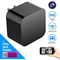 Hidden Spy Camera, Wireless USB Charger Mini Cam HD 1080P...