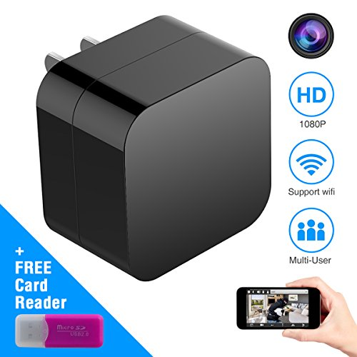 Hidden-Spy-Camera-Wireless-USB-Charger-Mini-Cam-HD-1080P-Home-Security-Camera-with-WiFi-Remote-View-Motion-Detection-2018-New-Version