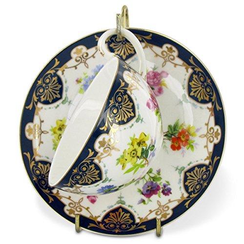 Vanderbilt Porcelain Teacup and Saucer Set From Biltmore House Collection -
