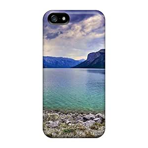 Iphone High Quality Cases/ Banff National Park 11432 VgK5649CowL Cases Covers For Iphone 5/5s