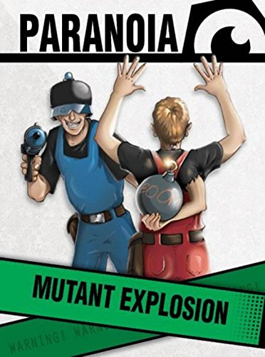 Read Online Paranoia: Mutant Explosion (MGP50004) pdf epub