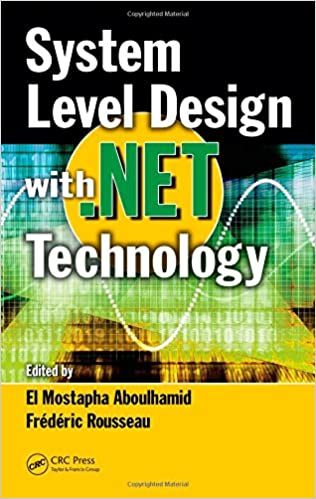 System Level Design with .Net Technology