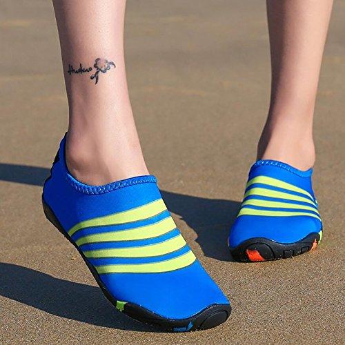 Rosso Acqua slip Un Rosa Quick Snorkeling Anti Spandex Da Yoga Blu Beach Upstream Athleisure Unisex Indossabile Xue Dry Nuoto Scarpe Nero wURXqWE