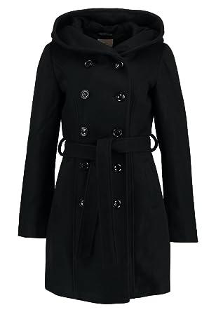 Wintermantel damen elegant schwarz