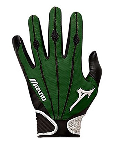 Mizuno Adult Vintage Pro Batting Gloves, Forest, Medium