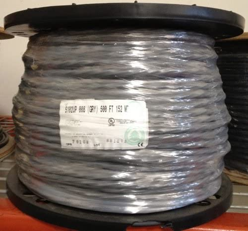 Belden 5102UP 14 AWG 4 Conductor Commercial Audio Cable 500 feet Gray Jacket