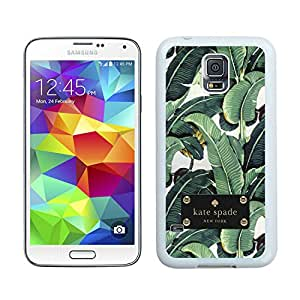 Personalized Design Customize Samsung S5 Protective Case Kate Spade New York Hardshell Case for Samsung Galaxy S5 I9600 G900a G900v G900p G900t G900w Cover 82 White