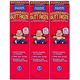 Boudreaux's Butt Paste Diaper Rash Ointment | Maximum Strength | 4 oz. | Pack of 3 Tubes | Paraben & Preservative Free