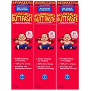 Boudreaux's Butt Paste Diaper Rash Ointment | Maximum Strength | 4 oz. | Pack of 3 Tubes | Paraben & Preservative Free