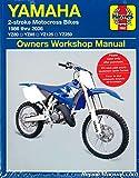 H2662 1986-2006 Yamaha YZ80 YZ85 YZ125 YZ250 Two Stroke Motorcycle Repair Manual