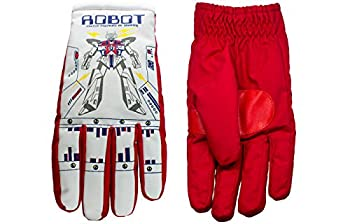 Robot Style - Retro Color-Changing Winter Snow Gloves for Adults