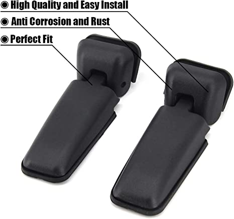 Aintier 1 Pair Window Hinge Liftgate for Nissan Pathfinder Compatible with Tailgate Glass Hinges 90320ZP40A 90320-ZP40A 90321-ZP40A