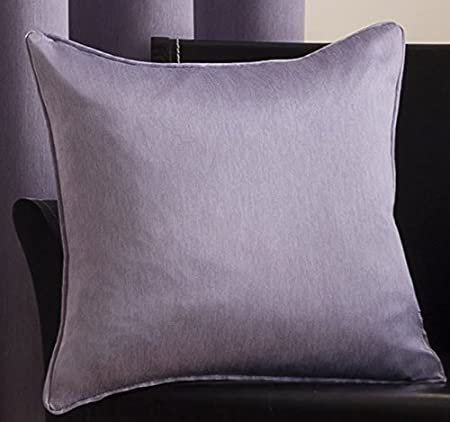 Sateen Mauve Cushion Cover 17in X 17in43cmx43cm Approximately By