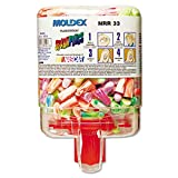 Moldex 6644 SparkPlugs PlugStation Dispenser, Cordless, 33NRR, Asst. Colors, 250 Pairs