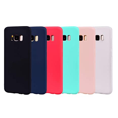 coque samsung s8 silicone couleur