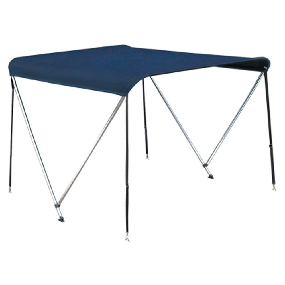 Oceansouth 2 Bow Bimini Top in Blue Available in Three Different Sizes