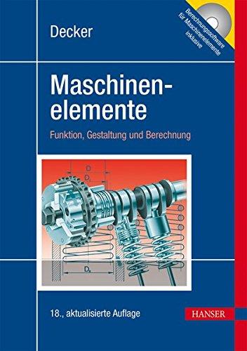 Decker Maschinenelemente: Tabellen und Diagramme