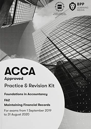 FIA Maintaining Financial Records FA2: Practice and Revision - Maintaining Financial Records