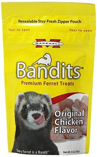 Marshall Bandits Ferret Treat, 3-Ounce, ()
