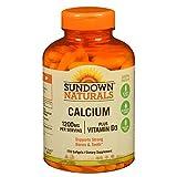 Cheap Sundown Naturals Calcium plus Vitamin D3, 1200mg, Softgels 170 ea (Pack of 2)