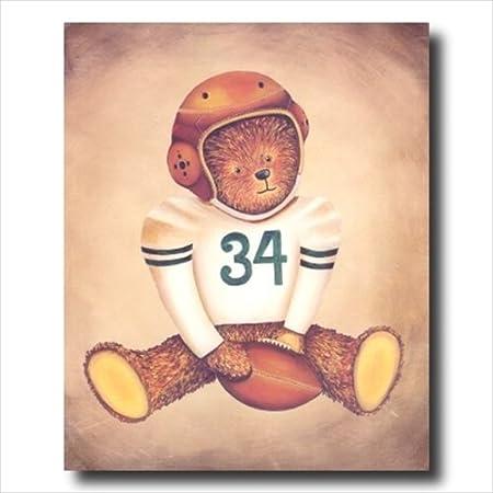 Green Bay Packers de balón de fútbol de pared oso de peluche de ...