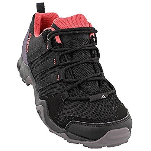 Adidas Vrouwen Terrex Ax2r Schoenen Zwart / Zwart / Tactiele Roze 7.5 & Handdoek