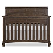 Evolur Santa Fe II 5 in 1 Convertible Crib, Storm Grey