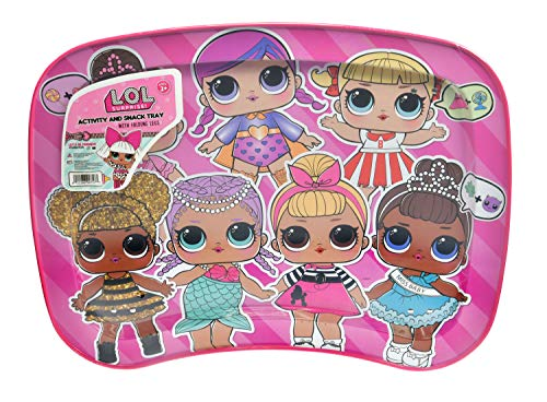 (JayBeeCo Lol Children's Multipurpose Snack Activity Tray)