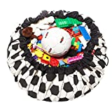 Play&Go Large Children Football Play Mat and Toy Organizer Storage 55