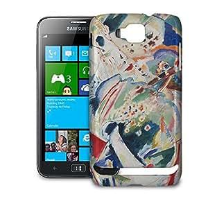 Phone Case For Samsung Ativ S i8750 - Kandinsky Abstract Art Painting Designer Wrap-Around