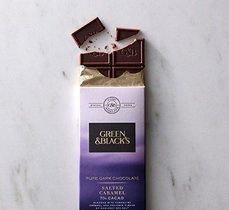 62be1eda1e0ca Amazon.com   Green   Black s 70% Cacao Pure Dark Chocolate Bars ...