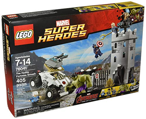 LEGO Marvel Super Heroes Avengers The Hydra Fortress Smash Set #76041 (Fortress Set Dark)