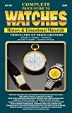 The Complete Price Guide to Watches: History & Educational Materials