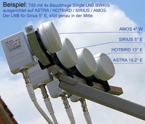 Sat Antenne Maximum Multi Focus T 85 Amazon De Elektronik