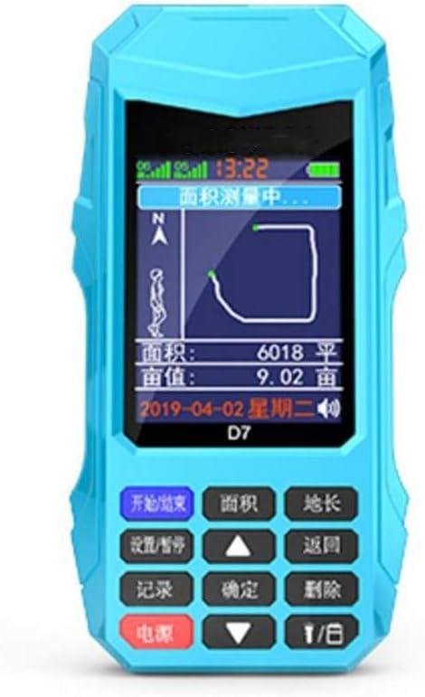 ZHWDD Instrumento de medición Mu, Instrumento de medición de área terrestre rápido y preciso, Instrumento de topografía de Campo GPS portátil de Alta precisión, Equipo de Prueba electrónico
