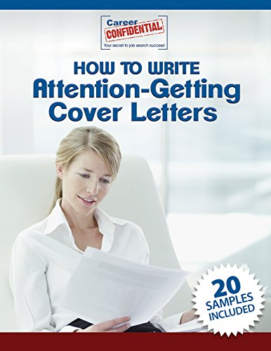 Image for Cover Letters eReport: 20 Samples Just For You!