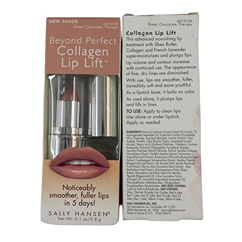 Shally Hansen® Beyond perfect Collagen Lip Lift™ (0.1 OZ/2.8 g) (Sheer Chocolate Therapy)